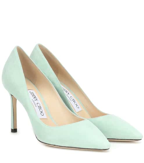 444f42e75d02 Exclusive to Mytheresa – Romy 85 suede pumps