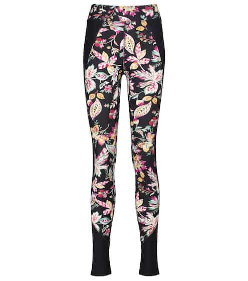 21FW 이자벨 마랑 에뚜왈 레깅스 Isabel Marant Etoile Tisea floral high-rise leggings