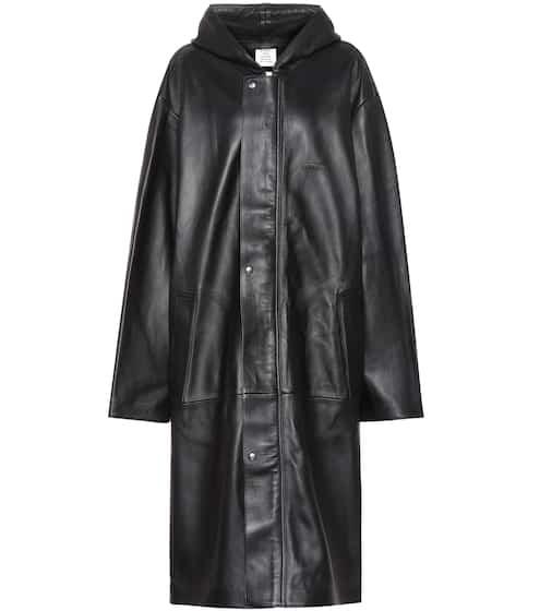 promo code 936a8 36221 Cappotto in pelle donna | Moda firmata | Mytheresa
