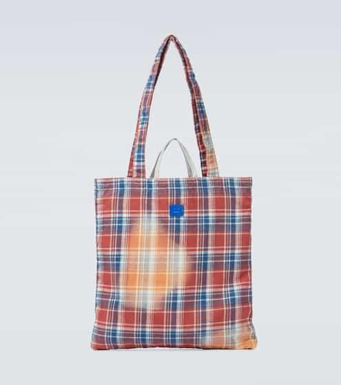 아크네 스튜디오 토트백 Acne Studios Awa flannel tote bag