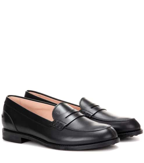 Gommino leather city loafers | Tod's