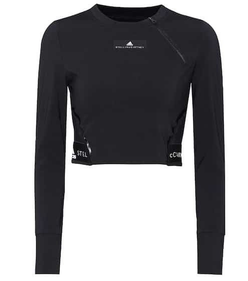Adidas by Stella McCartney Cropped Top Training Climachill