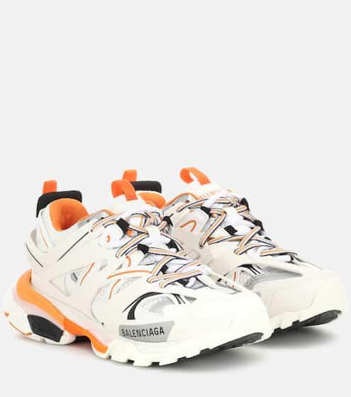 발렌시아가 트랙 여성용 - 화이트 오렌지 (하지원, 송민호 착용) Balenciaga Track sneakers, Blanc Orange