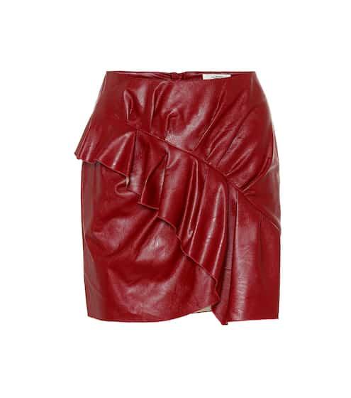 이자벨 마랑 Isabel Marant, EEtoile Zeist faux leather miniskirt