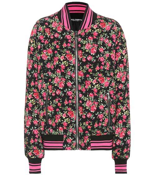 Dolce & Gabbana Bedruckte Bomberjacke
