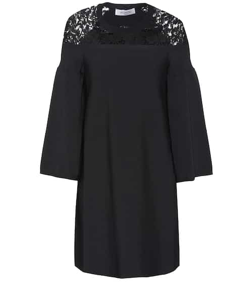 Lace trimmed dress | Valentino