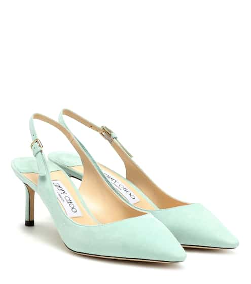 cf3ec9214 Exclusive to Mytheresa – Erin 60 suede slingback pumps