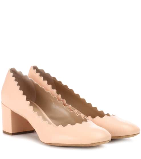 끌로에 Chloe Lauren leather pumps