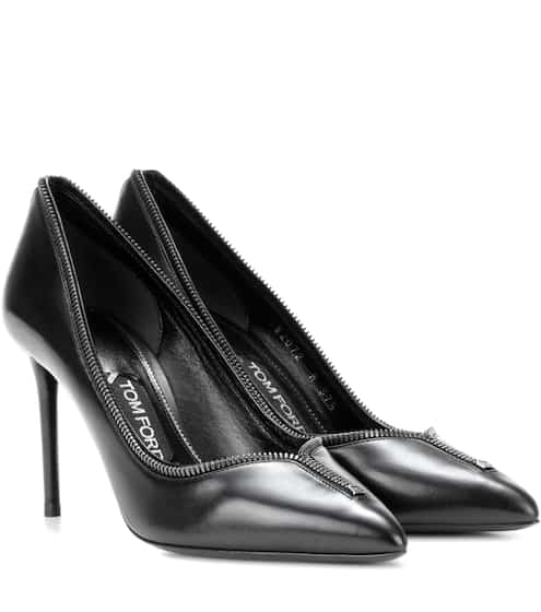 Tom Ford Verzierte Pumps aus Leder