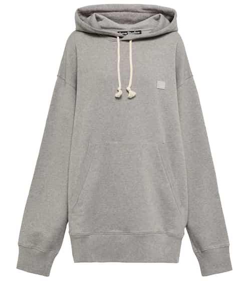 아크네 스튜디오 Acne Studios Ferris Face oversized cotton hoodie