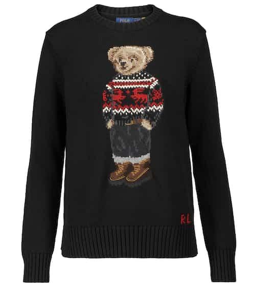 폴로 랄프로렌 Polo Ralph Lauren Polo Bear intarsia cotton sweater
