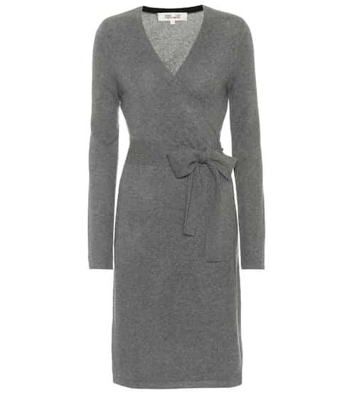 Diane von Furstenberg Wickelkleid aus Cashmere