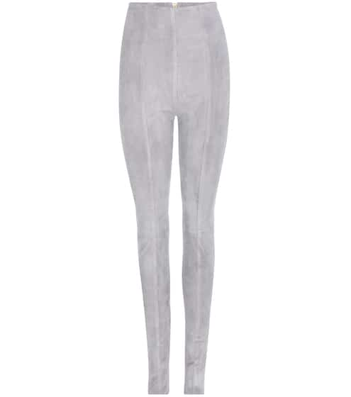 Image result for balmain suede leggings mytheresa