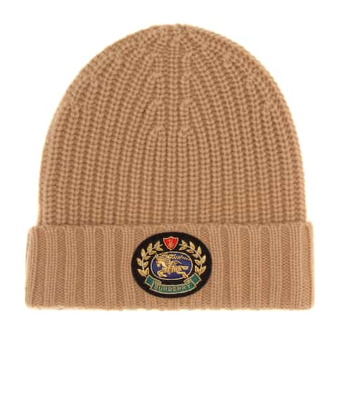 3b3e34356b2 Crest wool and cashmere beanie