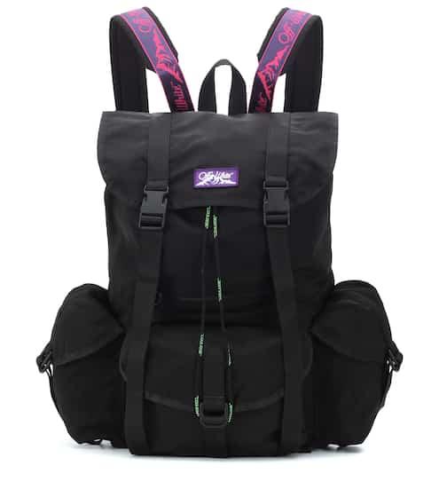 0977e5e3d35ea0 Exclusive to Mytheresa – technical canvas backpack | Off-White