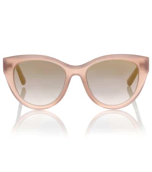 Jimmy Choo Cat-Eye-Sonnenbrille Chana