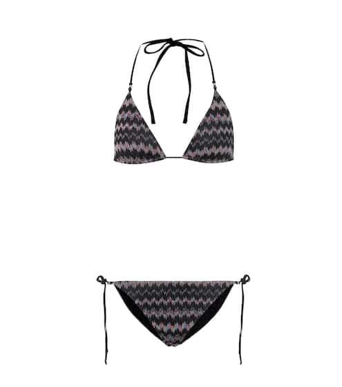 미쏘니 Missoni Mare Zigzag knit bikini