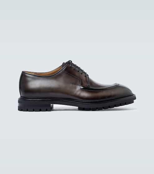 벨루티 더비 슈즈 Berluti Leather derby shoes