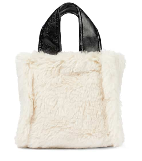 스탠드 스튜디오 에코퍼 토트백 Stand Studio Lucille faux fur tote