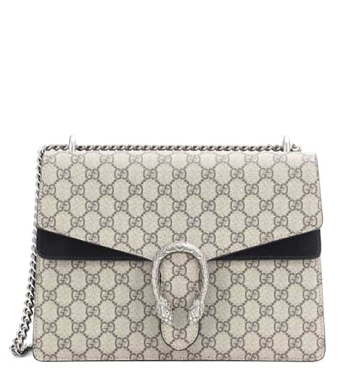 Gucci Schultertasche Dionysus GG Supreme Medium aus Canvas