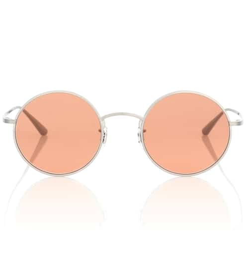 Oliver Peoples Runde Sonnenbrille After Midnight 49