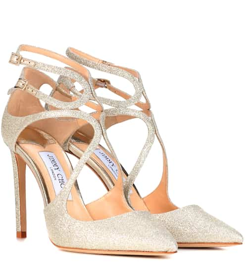 Jimmy Choo Pumps Lancer 100 mit Glitter
