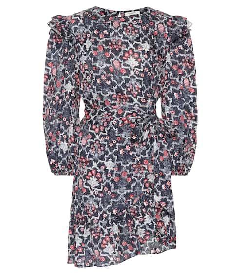 이자벨 마랑 에뚜왈 텔리시아 러플 린넨 원피스 (이다희 착용 원피스 버전) Isabel Marant Etoile Telicia printed linen minidress