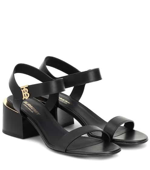 버버리 샌들 Burberry Hollywell leather sandals