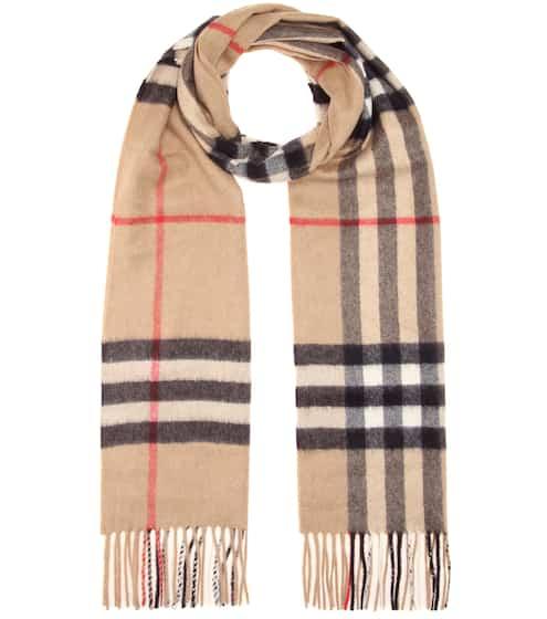 버버리 캐시미어 스카프 베이지 Burberry Giant Icon cashmere scarf