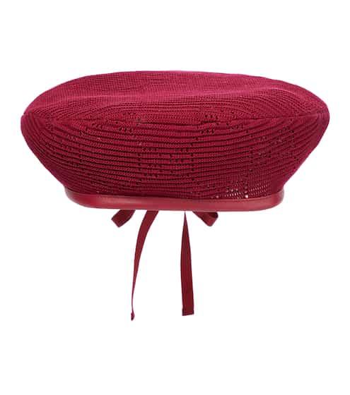 구찌 베레모 Gucci Cotton beret