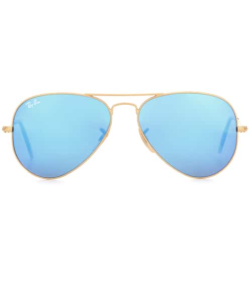 ray ban com 28za  RB3025 mirrored aviator sunglasses  Ray-Ban