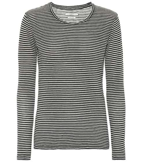 694a9955 Kaaron striped cotton and linen top | Isabel Marant, Étoile