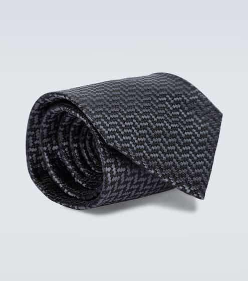 톰 포드 넥타이 Tom Ford Printed silk tie