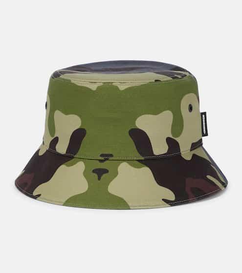 버버리 카모 버킷햇 Burberry Camouflage cotton bucket hat