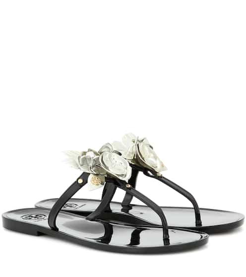 e30a2170cfe8 Tory Burch Blossom Jelly Embellished Sandals from mytheresa - Styhunt