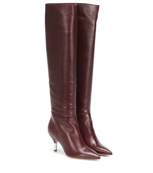 630b8d364 Gonzalez leather knee-high boots | Gabriela Hearst
