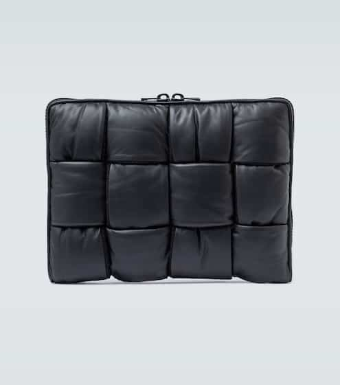 보테가 베네타 Bottega Veneta Padded Intrecciato document case