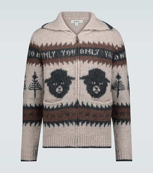 Phipps Smokey Bear cardigan