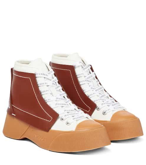 JW앤더슨 스니커즈 JW Anderson Trainer high-top sneakers