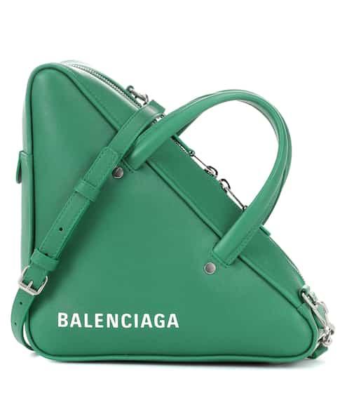 발렌시아가 트라이앵글 더플백 스몰 그린 (고소영 착용) Balenciaga Triangle Duffle S leather tote