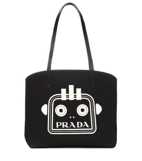 04855cd91856 Prada Printed Nylon Tote Bag from Gilt - Styhunt