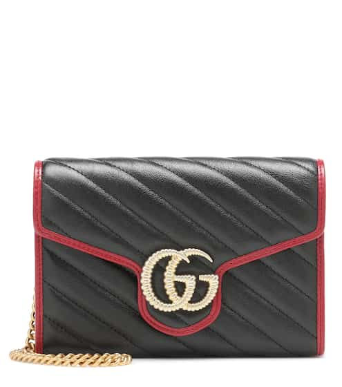 76e488fd59419d GG Marmont leather shoulder bag | Gucci. Gucci