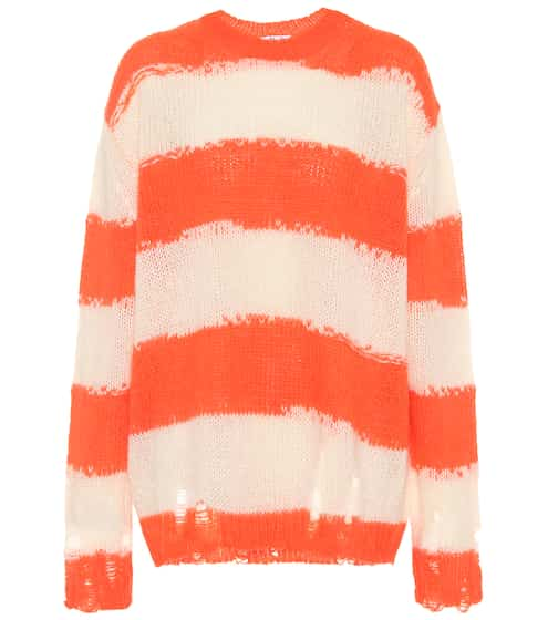 아크네 스튜디오 Acne Studios Striped oversized sweater