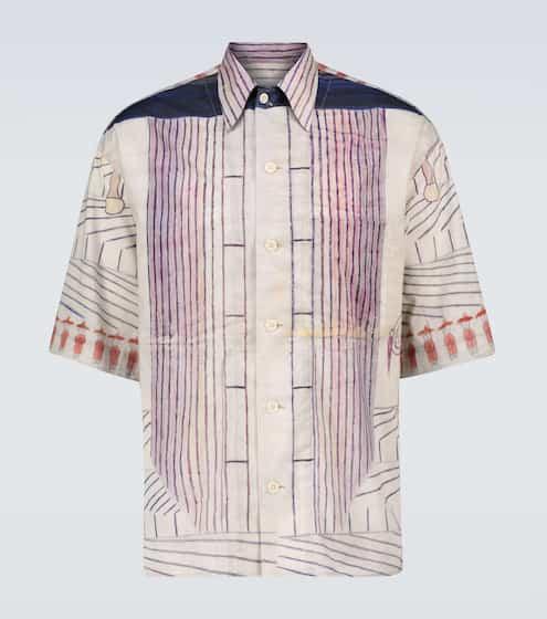르메르 셔츠 Lemaire Ramirez short-sleeved shirt
