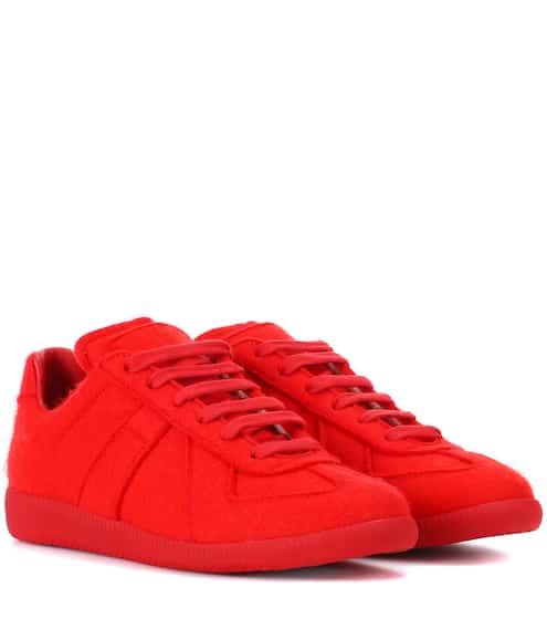 Maison Margiela Sneakers Replica aus Filz