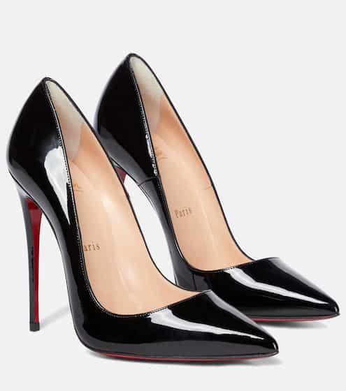 크리스찬 루부탱 펌프스 Christian Louboutin So Kate 120 patent leather pumps