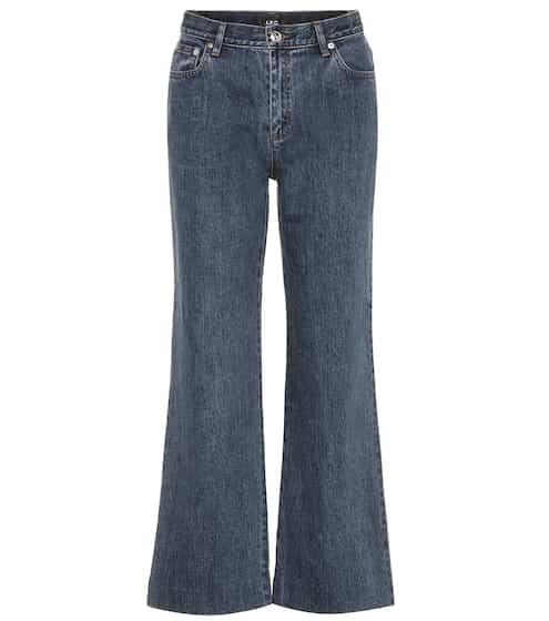 A.P.C. Jeans mit weitem Bein