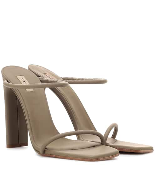 6e32614c841 Rubberised leather sandals (SEASON 6)