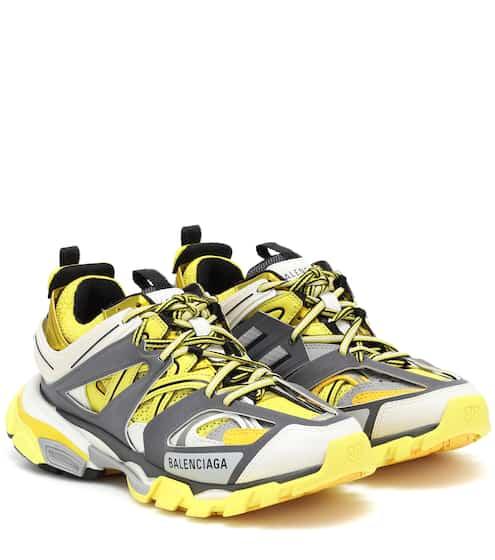 19 S/S 발렌시아가 트랙 여성용 옐로우/그레이 (송민호 착용) Balenciaga Track Trainer sneakers