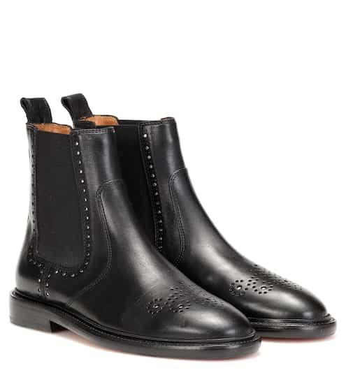이자벨 마랑 Isabel Marant Exclusive to Mytheresa – Chelaya leather Chelsea boots
